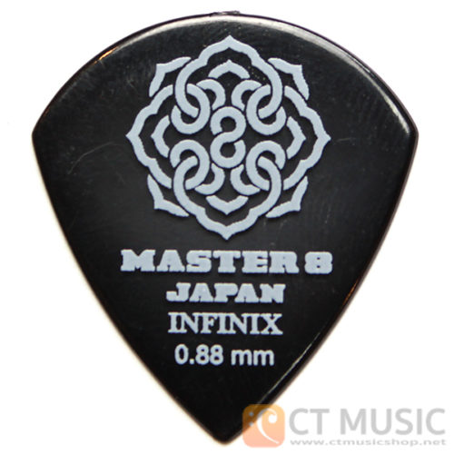 ปิ๊ก Master 8 Infinix Jazz Guitar Pick