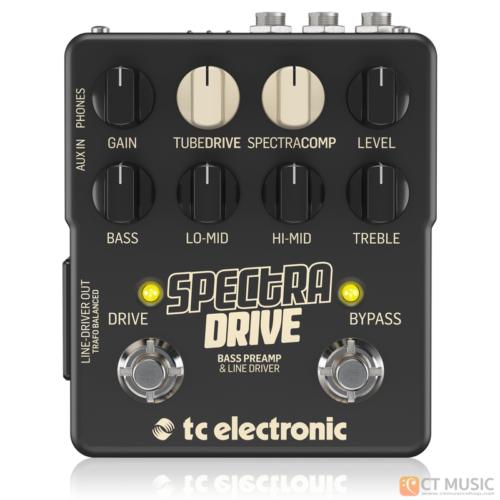 เอฟเฟคเบส TC Electronic Spectra Drive Bass Preamp/Overdrive