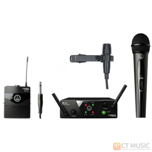 AKG WMS 40 Mini 2 Mix + AKG CK99L