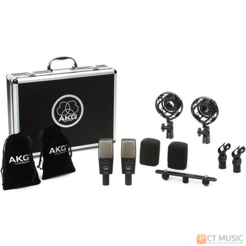 ไมโครโฟน AKG C414 XLS Stereo Set