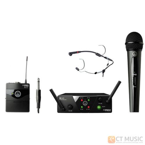 AKG WMS 40 Mini 2 Mix + AKG C555L