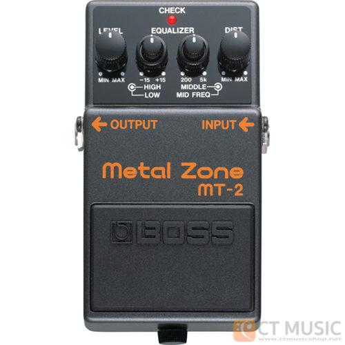 เอฟเฟคกีตาร์ Boss MT-2 Metal Zone
