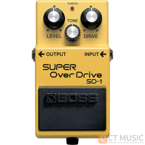 เอฟเฟคกีตาร์ Boss SD-1 Super Overdrive