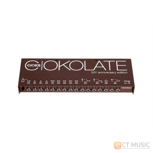 CIOKS CIOKOLATE - 16 Outlets In 13 Isolated Sections DC And AC