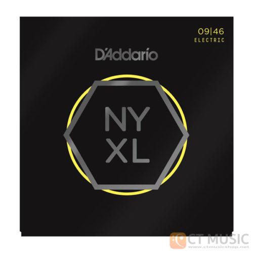 สายกีตาร์ไฟฟ้า D'Addario NYXL0946 Nickel Wound Super Light Top/Regular Buttom 009-046