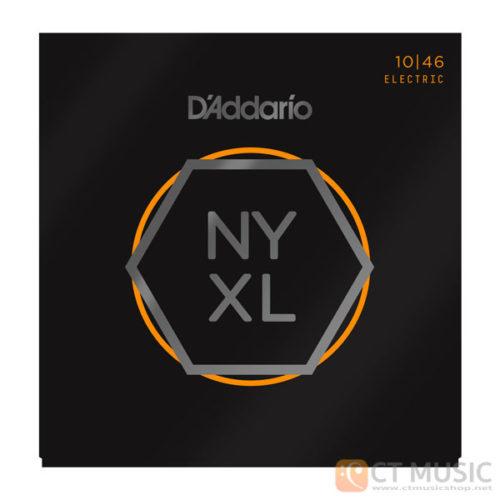 สายกีตาร์ไฟฟ้า D'Addario NYXL1046 Nickel Wound Regular Light 010-046