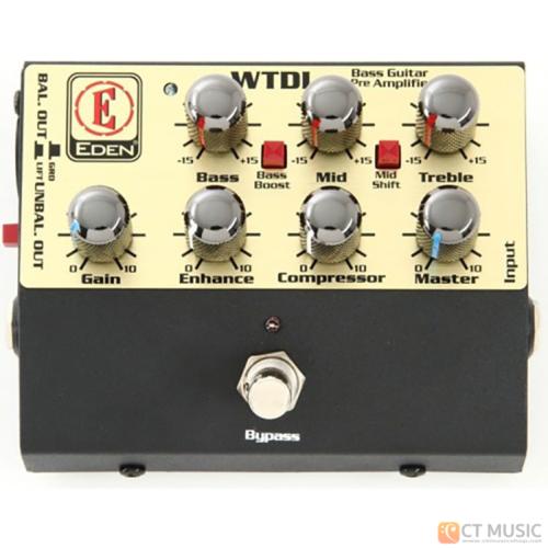 เอฟเฟคเบส EDEN WTDI World Tour Direct boxPreamp pedal
