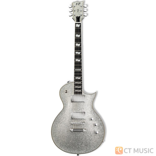 กีตาร์ไฟฟ้า ESP USA Eclipse-II Silver Sparkle