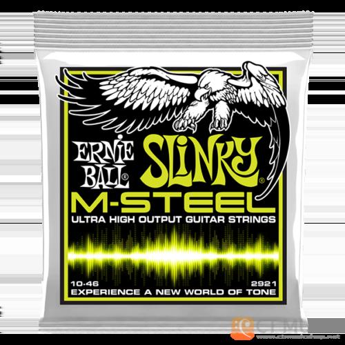 สายกีตาร์ไฟฟ้า Ernie Ball M-Steel Regular Slinky 010-046