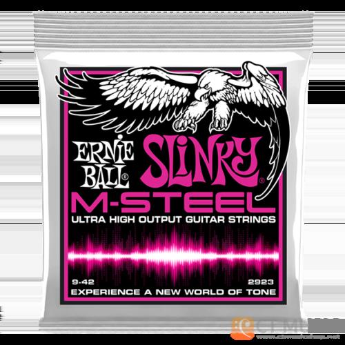 สายกีตาร์ไฟฟ้า Ernie Ball M-Steel Super Slinky 009-042