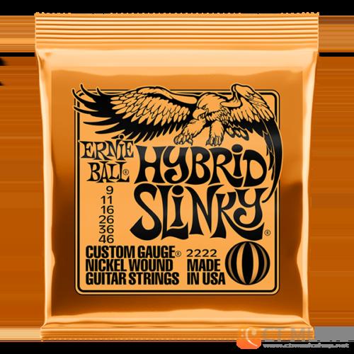สายกีตาร์ไฟฟ้า Ernie Ball Nickel Wound Hybrid Slinky 009-046