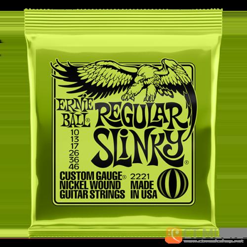 สายกีตาร์ไฟฟ้า Ernie Ball Nickel Wound Regular Slinky 010-046