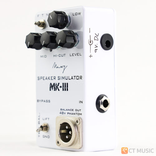 Maxz Pedal Speaker Simulator MK-III with Line Out