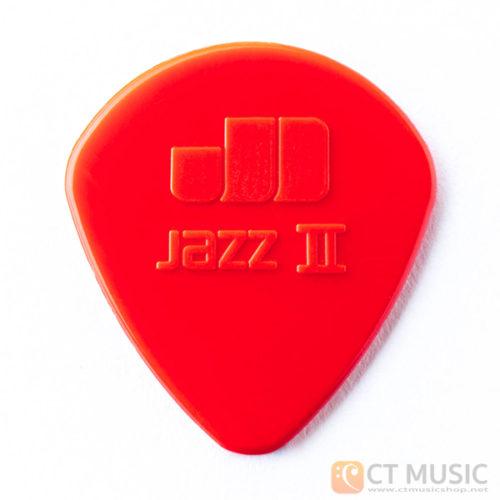 ปิ๊ก Jim Dunlop Jazz II Nylon Guitar Pick 47R2N