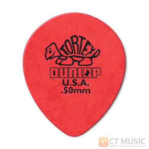 ปิ๊ก Jim Dunlop Tortex Teardrop Guitar Pick 413R
