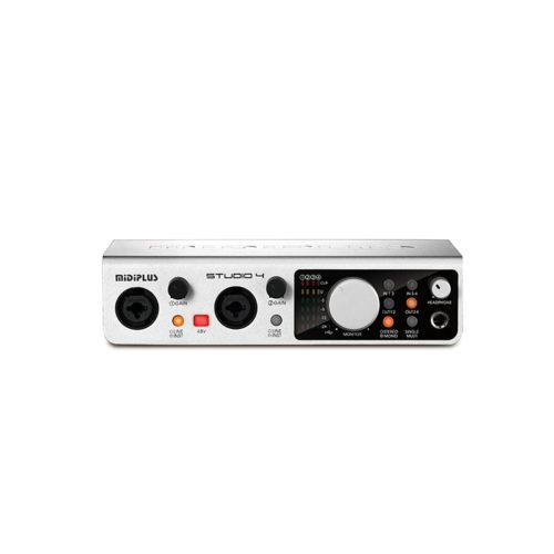 Midiplus Studio 4 ( 24 bit 192K Audio Interface )