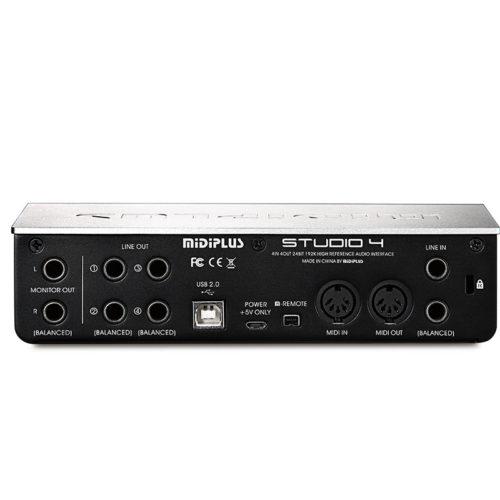 Midiplus Studio 4 ( 24 bit 192K Audio Interface )