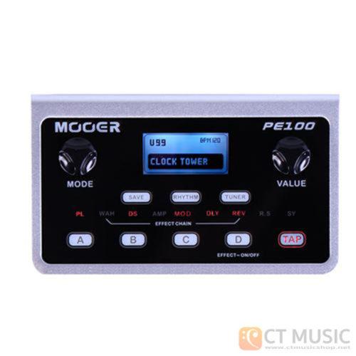 เอฟเฟคกีตาร์ Mooer PE100 Portable Guitar Effect