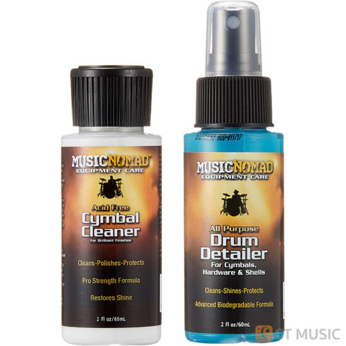 Musicnomad MN117 Drum Detailer & Cymbal Cleaner Combo Pack