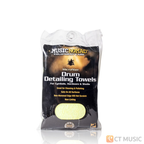 Musicnomad MN210 Microfiber Drum Detailing Towels