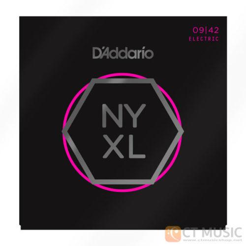 สายกีตาร์ไฟฟ้า D'Addario NYXL0942 Nickel Wound Super Light 009-042