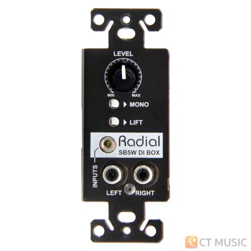 Radial StageBug SB-5W Wall-mounted stereo direct box