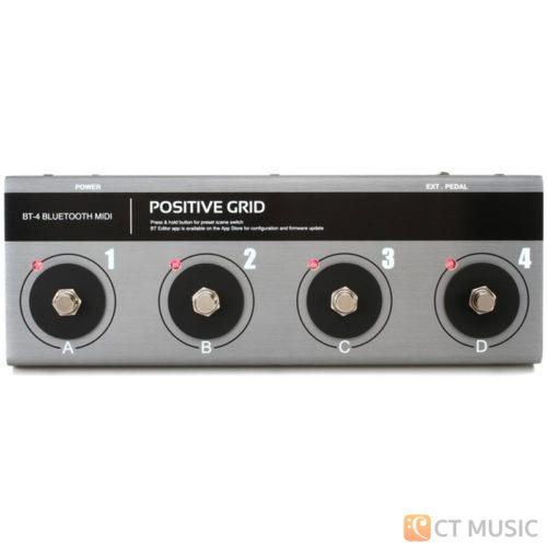 เอฟเฟคกีตาร์ Positive Grid BT4 Bluetooth Midi Footswitch