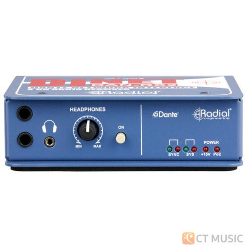 Radial Dinet Dan-RX 2-Channel Dante Network Receiver