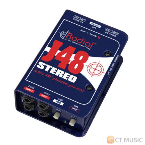 Radial J48 Stereo Active DI