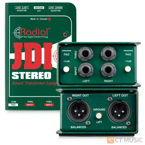 Radial JDI Stereo Jensen Passive DI