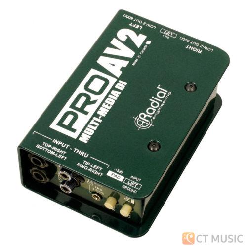 Radial ProAV2 Stereo Passive DI