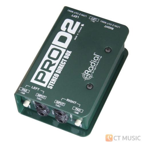 Radial ProD2 Stereo Passive DI