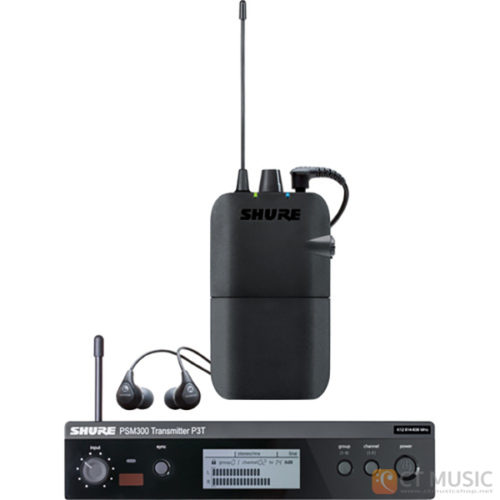 Shure PSM 300 P3TR112GR Stereo Personal Monitor System
