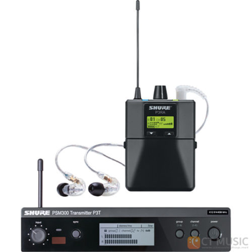 Shure PSM 300 P3TRA215CL Stereo Personal Monitor System