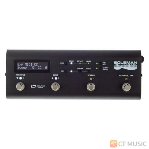 เอฟเฟคกีตาร์ Source Audio Soleman MIDI Foot Contorller