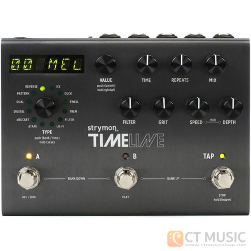 เอฟเฟคกีตาร์ Strymon TImeLine Multidimensional Delay