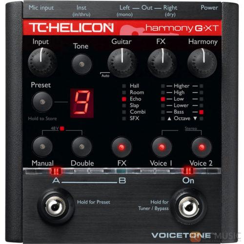 เอฟเฟคร้อง TC Helicon VoiceTone Harmony G XT
