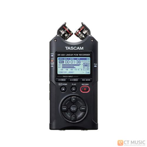 เครื่องบันทึกเสียง Tascam DR-40X