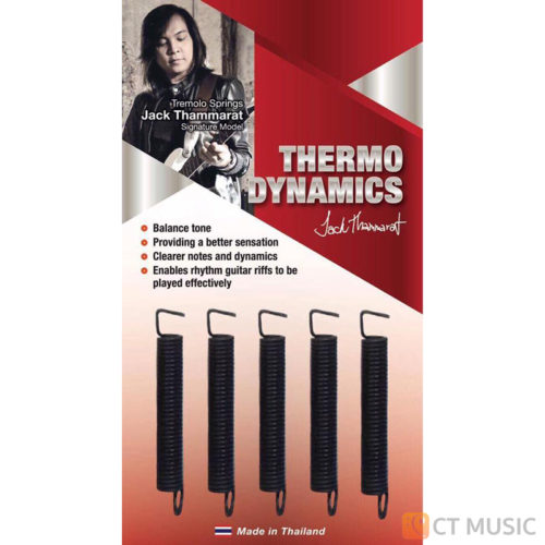 Thermodynamics tremolo springs Jack Thammarat