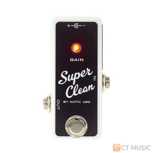 เอฟเฟคกีตาร์ Xotic Super Clean