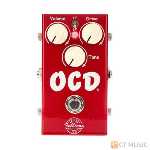เอฟเฟคกีตาร์ Fulltone OCD V2 Candy Red Limited