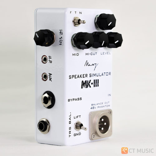 Maxz Pedal Speaker Simulator MK-III with Line Out Headphone